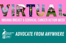 breast cancer; cervical cancer; action week