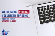 Register for the Virtual Volunteer Training