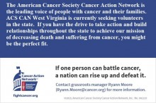 ACS CAN WV Volunteer