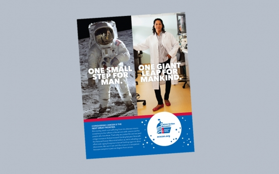 Image of ACS CAN Cancer Moonshot Media Campaign