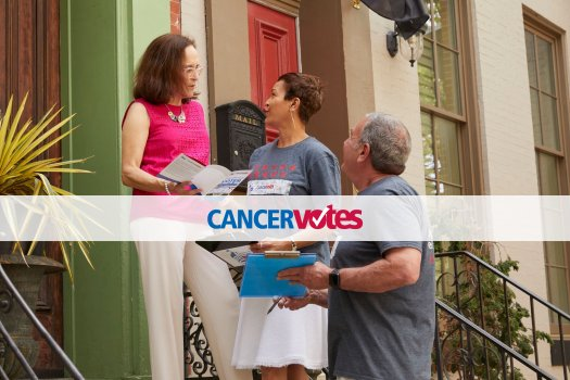 Cancer Votes Volunteer