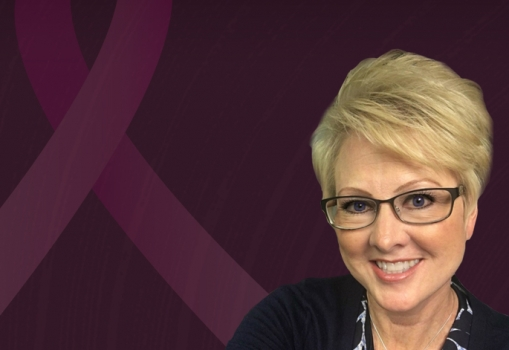 Breast cancer survivor Debbie Pearsall