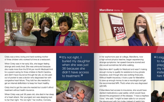 Medicaid Covers US storybook page