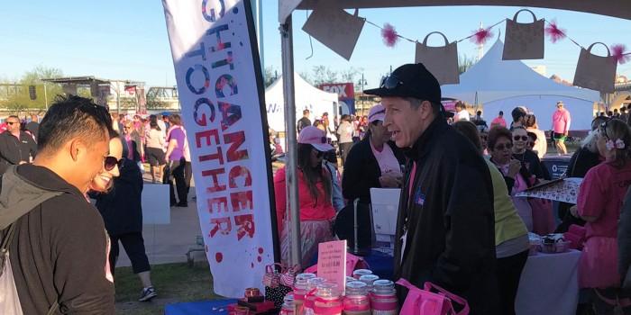 Volunteer event stand