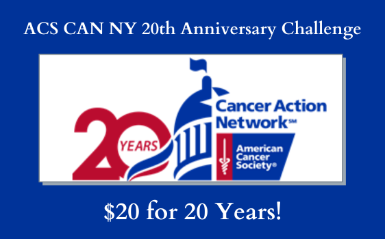 ACS CAN NY 20th Anniversary Challenge