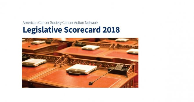 2018 ACS CAN California Legislative Scorecard