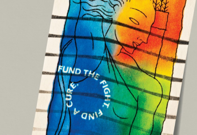 stamp for breast cancer research funding