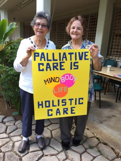 ACS CAN Hawaii advocates supporting palliative care programs.