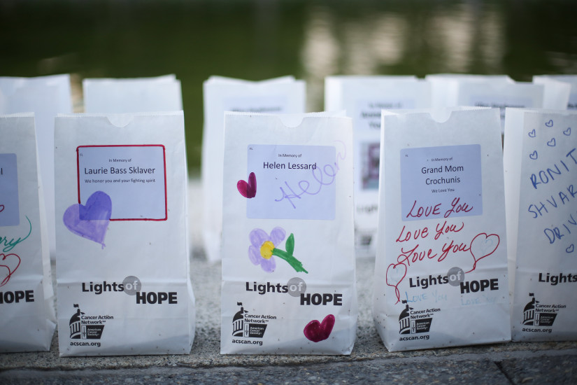 Lights of Hope display