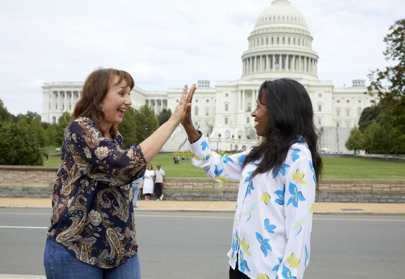 Volunteers at the U.S. Capitol