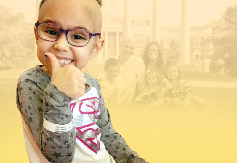 Photo of Childhood Cancer Survivor Rhyan Loos