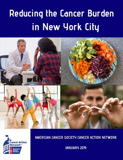 Reducing the Cancer Burden in New York City