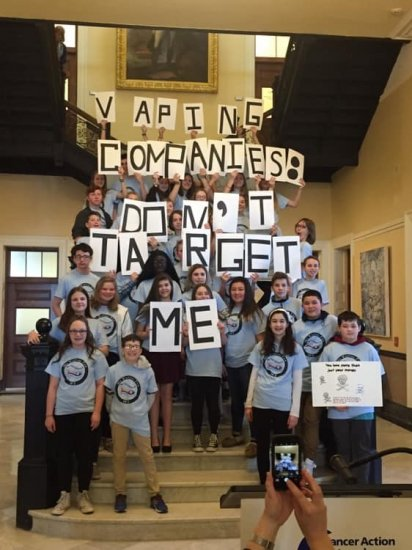 Youth advocacy efforts in Maine.