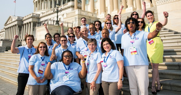 Photo of ACS CAN Volunteers at Advocacy Lobby Day