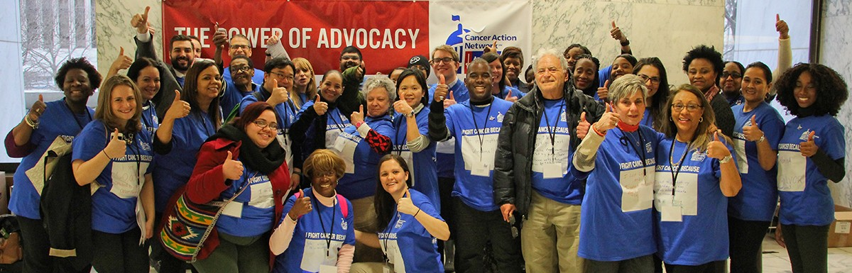 Photograph of Volunteers at New York York Lobby Day