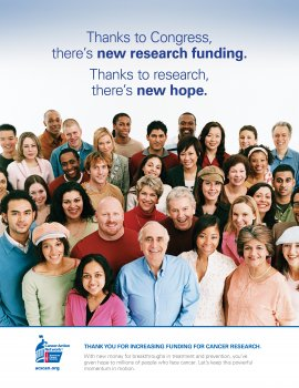 Congress, Thank You for Increasing Funding for Cancer Research