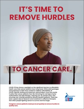 It's time to remove hurdles full page promotional image