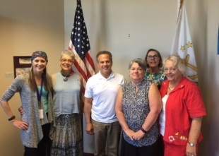 ACS CAN Cicilline Petition Delivery
