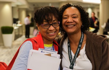 Volunteers at Leadership Summit