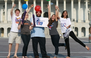 Photo of Colleges Students at the United States Capitol