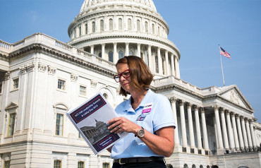 Volunteer at the Capitol